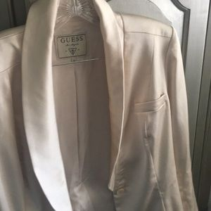 Guess creme colored woman's jacket